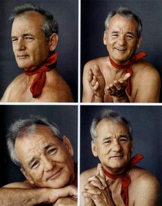 Just Bill Murray being all cute and stuff