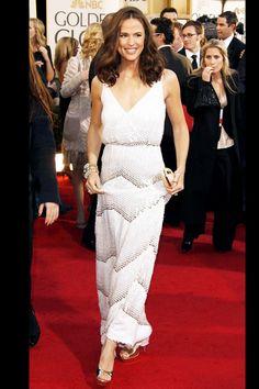 Jennifer Garner in Vintage Gaultier Rachel Zoe's Favorite Golden Globes Moments | The Zoe Report