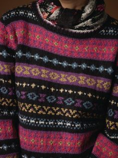 Colour Inspiration | Fair isle