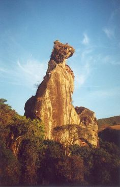 Pedra do Cão Sentado, em Nova Friburgo