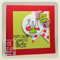 Snappy Stampin' w/ Arielle: MAGIC / RS #92 & TAWS Blog Hop... TAWS/ The Alley Way Stamps - Set(s): Bubbling Over