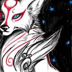 Resultado de imagen para orochi head okami fan art