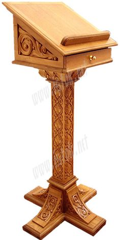 carved lectern - Google Search