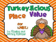 This cute turkey-themed product includes a variety of different activities to pretest, assess, practice, and play games for the second grade...