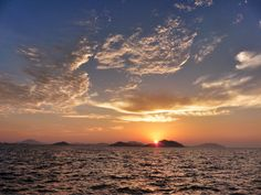 ( Evening Now at Hakata bay in Japan) 11 July 19:22 博多湾日の入りです。#sunset