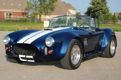 1967 Shelby Cobra blue