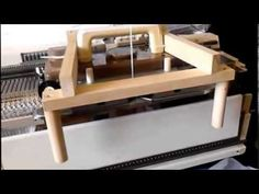▶ Singer 155 knitting machine moving mast modifications - YouTube