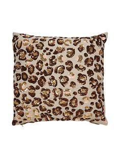 sequin leopard pillow - Kate Spade New York
