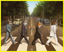 Art Gallery | Cat Paintings | Don Roth Artist | Music  Tabby Road