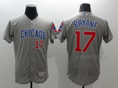 http://www.xjersey.com/cubs-17-kris-bryant-grey-flexbase-jersey.html CUBS 17 KRIS BRYANT GREY FLEXBASE JERSEY Only $35.00 , Free Shipping!