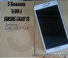 5 Reasons to Own a Samsung Galaxy S5 #VZWMidwest