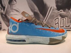 8d217d571e10 Nike KD 6  Maryland Blue Crab  - Hot new kicks from Nike and Kevin Durant