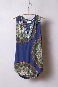 Split Image Top  #anthropologie Can't wait to get this and wear w/white jeans or shorts...