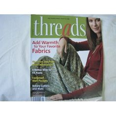 Threads Magazine January 2006 Number 122 (Single Issue Magazine) #home decor #home #decor