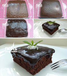 Sodalı Islak Kek