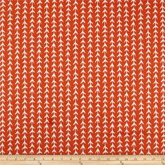 Premier Prints Vine Monarch from @fabricdotcom  Screen printed on cotton duck, this versatile medium-weight fabric is perfect for window accents (draperies, valances, curtains, and swags), accent pillows, duvet covers, and upholstery projects. Colors include orange and white.