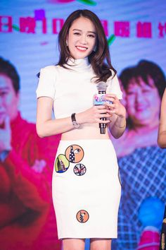Fabulously Spotted: Joe Chen Wearing Christopher Bu - 'The Greatest Love' Press Conference - http://www.becauseiamfabulous.com/2016/01/23/fabulously-spotted-joe-chen-wearing-christopher-bu-the-greatest-love-press-conference/