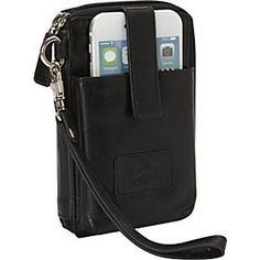 Buy the Mancini Leather Goods Cell Phone RFID Wallet at eBags - When you only need to carry the bare essentials, this cell phone wallet is perfect for use for day o Cell Phone Wallet, Best Cell Phone, Rfid Wallet, Sprint Cell Phone Deals, Clutch Bag, Crossbody Bag, Cell Phones In School, Cell Phone Service, Bare Essentials