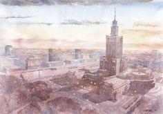 Pałac z góry - Warsaw (Poland)