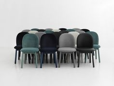 Ace dining chair in different fabrics and colors