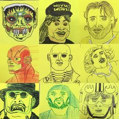 Top 9 post its 2016 #topnine2016 #top9of2016 #postit #waynesworld #prometheus #theflash #cw #starwars #genewilder #youngfrankenstein #ghoul #frankie #grimcartoons #illustration #sketch #methodman #si #statenisland #ny #twd #thewalkingdead #rickgrimes #art #artist #madlove #classic #comic #snl #wutang #georgelucas #disney #amc