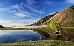 WALLPAPERS HD: Lake Coleridge New Zealand