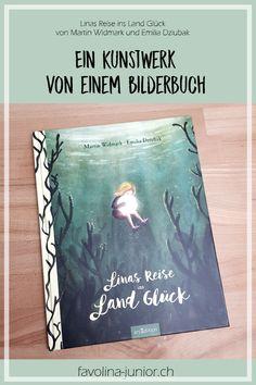 """Favolina und Junior: Bilderbuch: """"Linas Reise ins Land Glück"""" von Martin Widmark und Emilia Dziubak"""