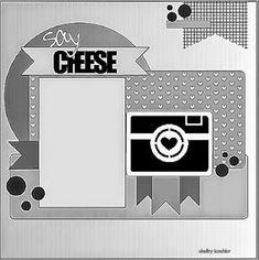 8x8 Scrapbook Layouts, Disney Scrapbook Pages, Scrapbook Templates, Scrapbook Designs, Scrapbook Sketches, Card Sketches, Scrapbook Albums, Scrapbook Cards, Cruise Scrapbook