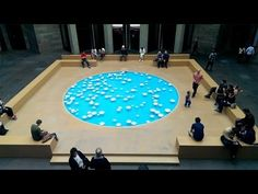 CLINAMEN 2013 by Céleste Boursier-Mougenot at National Gallery of Victoria - Melbourne, Australia - YouTube