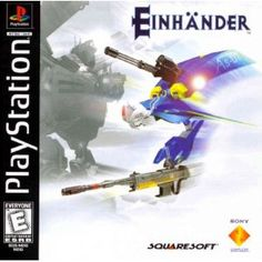 Einhänder, made by Square Enix (then-Squaresoft) for the PSX in 1997/1998.