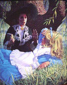 Greg Hildebrandt | ILLUSTRATION | Alice's Illustrated Adventures In Wonderland