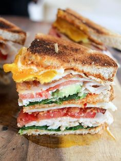 Our Smoky Chipotle Mayo is just dying to be on this California #Club sandwich. [Promotional Pin]