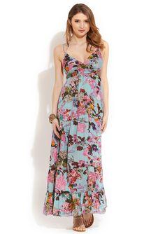 Floral Print Maxi Dress, ideeli.com Floral Print Maxi Dress, Floral Prints, Style Inspiration, Dresses, Fashion, Vestidos, Moda, Floral Patterns, Fashion Styles