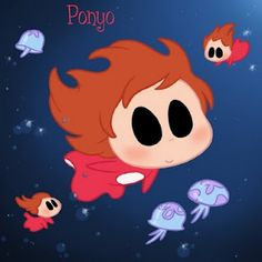 Ponyo by David Gilson