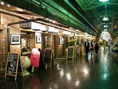 Chelsea Market  An underground gourmet shopping mecca for dinner hosts and High Line picnic planners.