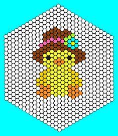 Kandi Patterns for Kandi Cuffs - Holidays Pony Bead Patterns Easy Perler Bead Patterns, Perler Bead Templates, Pearler Bead Patterns, Diy Perler Beads, Perler Bead Art, Peyote Patterns, Beading Patterns, Kandi Patterns, Hexagon Pattern