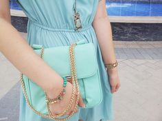 Teen Fashion Diary: Monochromatic Mint