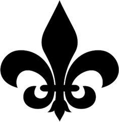 Fleur De Lis Symbol Font | Fleurty Fridays: The Iris