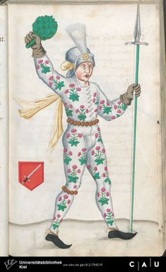 Nürnberger Schembart-Buch Erscheinungsjahr: 16XX  Cod. ms. KB 395  Folio 58