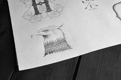 HOOK & IRONS CO. by Ginger Monkey, via Behance    @Jason Whittemore @Rod Ben Check this portfolio, awesome stuff!