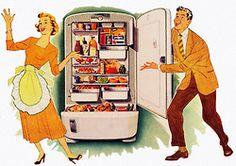 1949 International Harvester Refrigerator