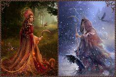 Slavic mythology.  Morana by Vasylina.deviantart.com on @DeviantArt