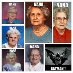 nana, nana, nana.... batman!