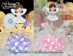 Decoración Bautizo Niña  http://www.happy-occasions.com/ https://www.facebook.com/happyoccasionsfiestas