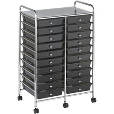 also comes in clear and a 10 drawer tower