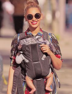 Beyonce and baby Blue
