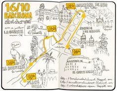 idée même si a realiser autrement : maratón en barcelona