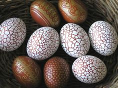 Egg mosaic - genius!