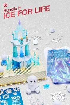 Do you want to build a…castle? Disney Frozen Elsa's Magical Rising Castle magically rises up to 20 inches with just a wave of your hand. It's a 2016 top gift and is sure to melt little hearts this holiday. Want to give it even more icy flair? Sprinkle in a few snowy surprises, like an Elsa costume and tiara, indoor-approved fabric snowballs and a book of cut-out animal-shaped snowflakes.