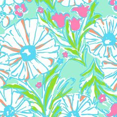 Lilly Pulitzer Summer '13- Splish Splash Print